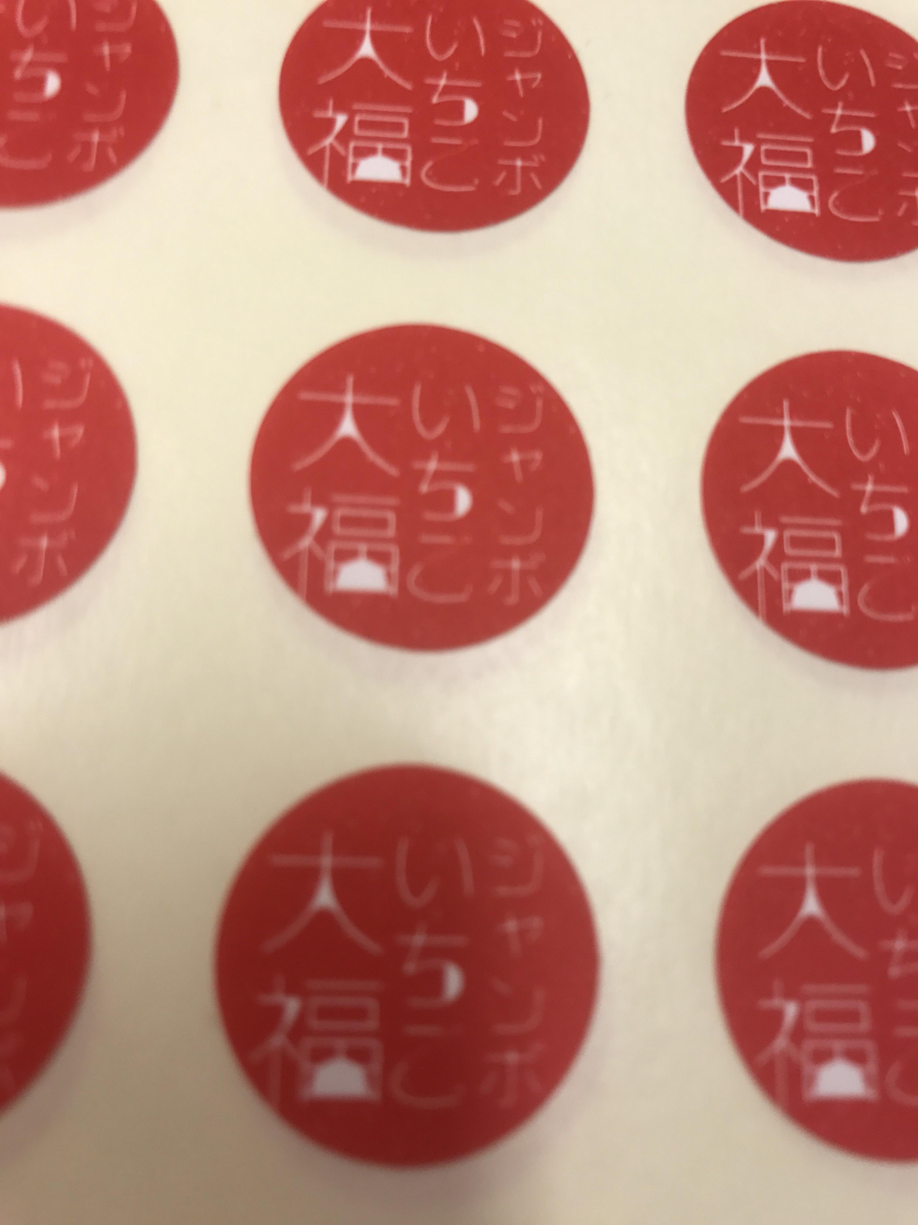 川崎の新岩城菓子舗の、ジャンボいちご大福