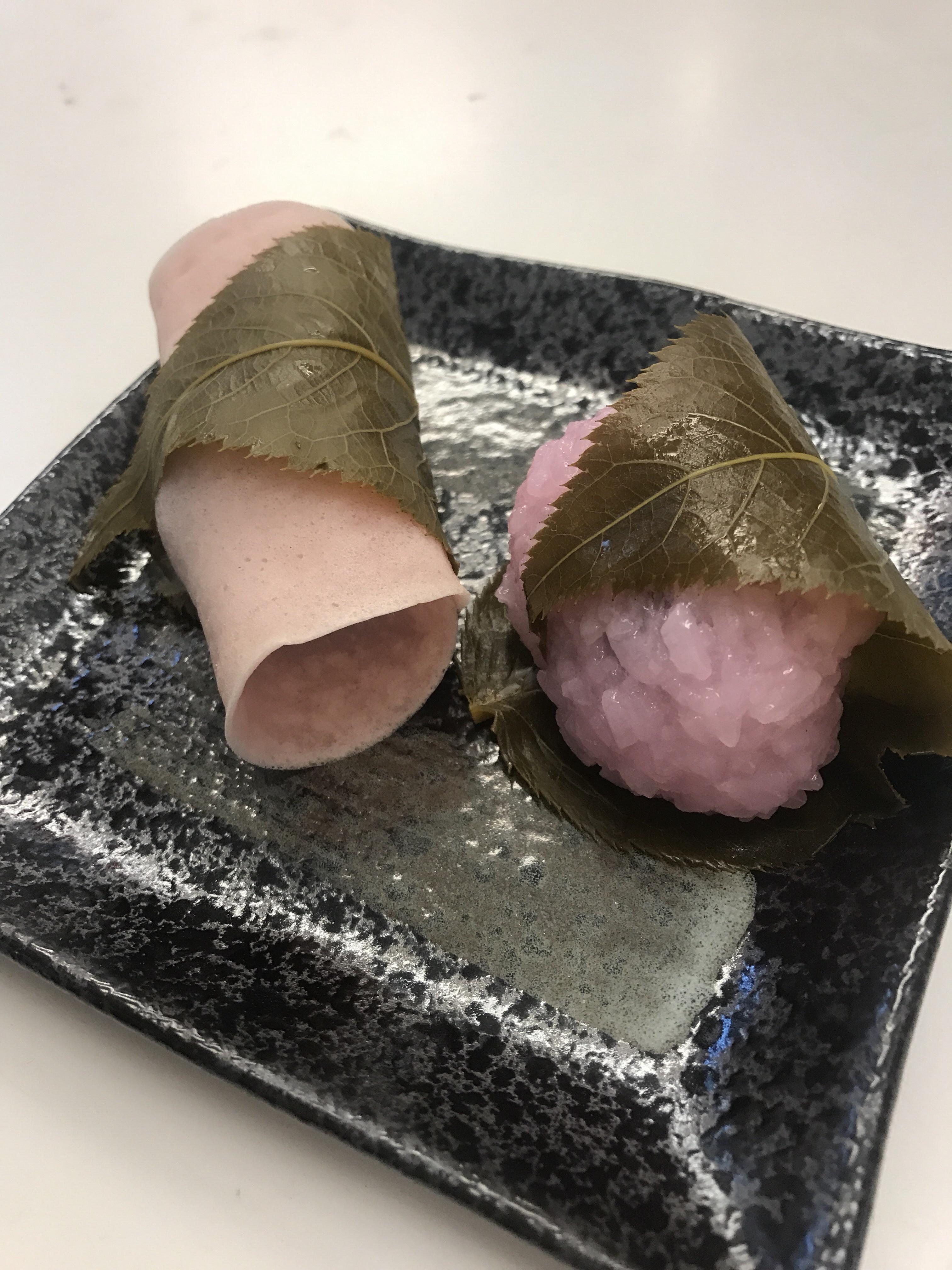 新岩城の桜餅
