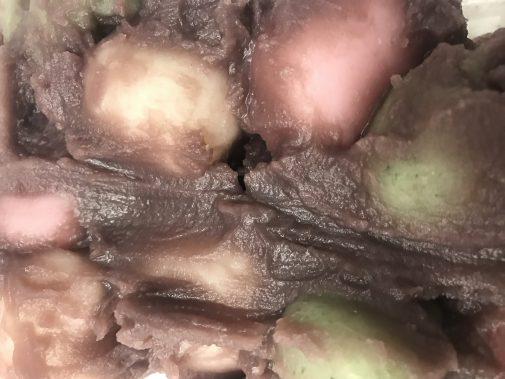 新岩城の糸切りだんご